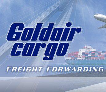 GOLDAIR-CARGO Logo